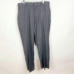 Apartment 9 Mens Grey Trouser Career Pants
